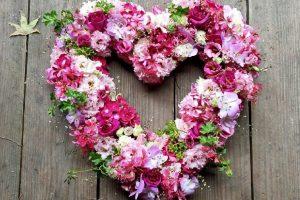 open hartvorm orchidee